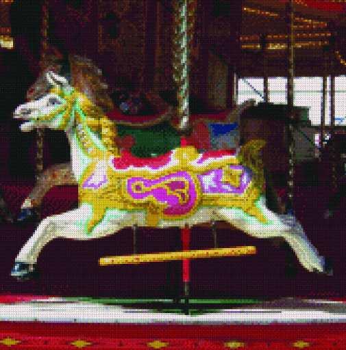 carousel horse pattern | eBay
